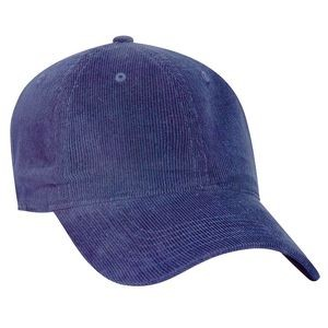 OTTO Corduroy 6 Panel Low Profile Baseball Cap